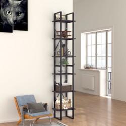 Tander Kit de herrajes para puerta corredera 183 cm acero plateado