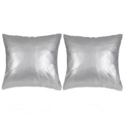 vidaXL Guantes de trabajo de nitrilo 24 pares gris y negro talla 9/L