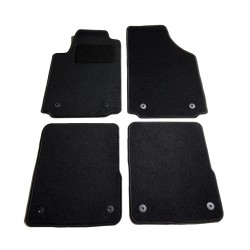 vidaXL Guantes de trabajo de PU 24 pares blanco y gris talla 8/M