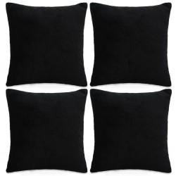 vidaXL Guantes de trabajo PU 24 pares blanco y gris talla 9/L
