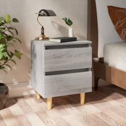 Tander Set armario libros 4 pzas aglomerado blanco y roble Sonoma