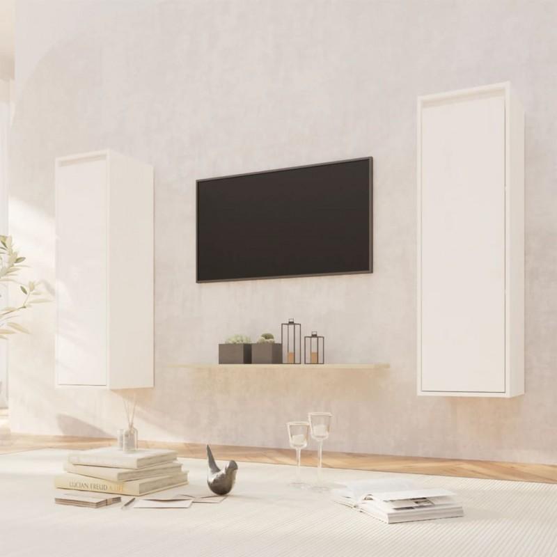 Tander Caja de almacenamiento beige y marrón 122x56x63 cm