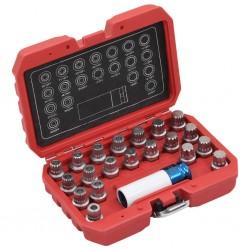 vidaXL Mesa de centro superficie ovalada de vidrio negro brillante