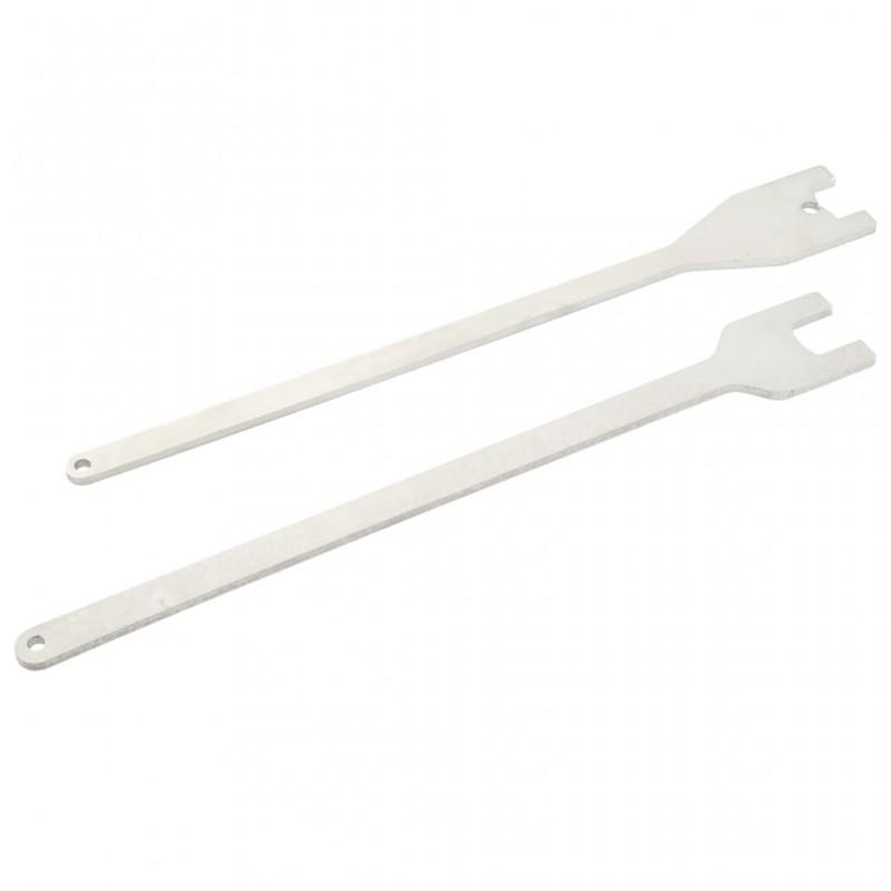 vidaXL Juego de estantes en forma de cubo 3 piezas
