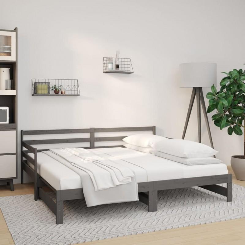 Tander Tocador de esquina con LED negro 111x54x141,5 cm