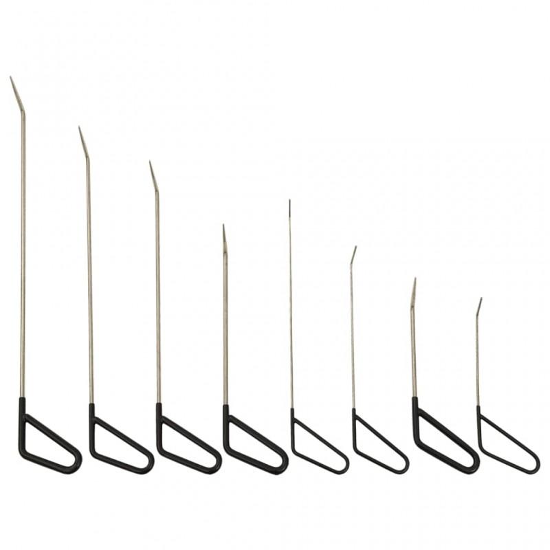 vidaXL Armario de tela compartimentos y varillas negro 45x150x176 cm
