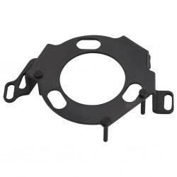 Zapatero de tela con cubierta, marrón, 58 x 28 x 106 cm