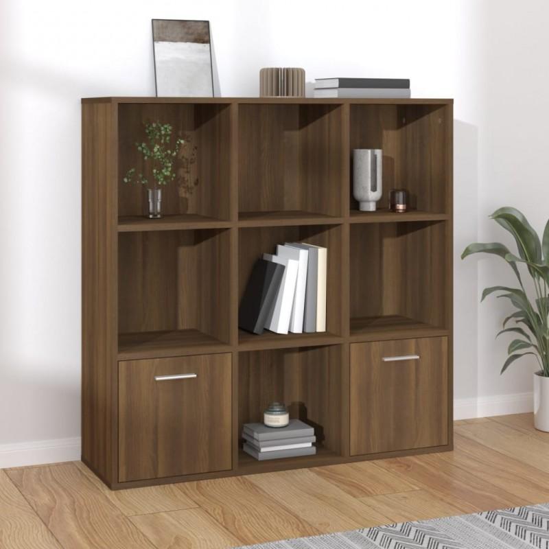 Tander Mesita de noche de madera maciza de mango 30x40x50 cm