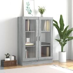 Tander Mueble de TV de aglomerado negro brillante 72x35x36,5 cm