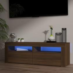 Tander Árbol de Navidad artificial con soporte azul PVC 120 cm