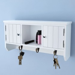 Tander Banco Batavia 120 cm blanqueado madera teca maciza