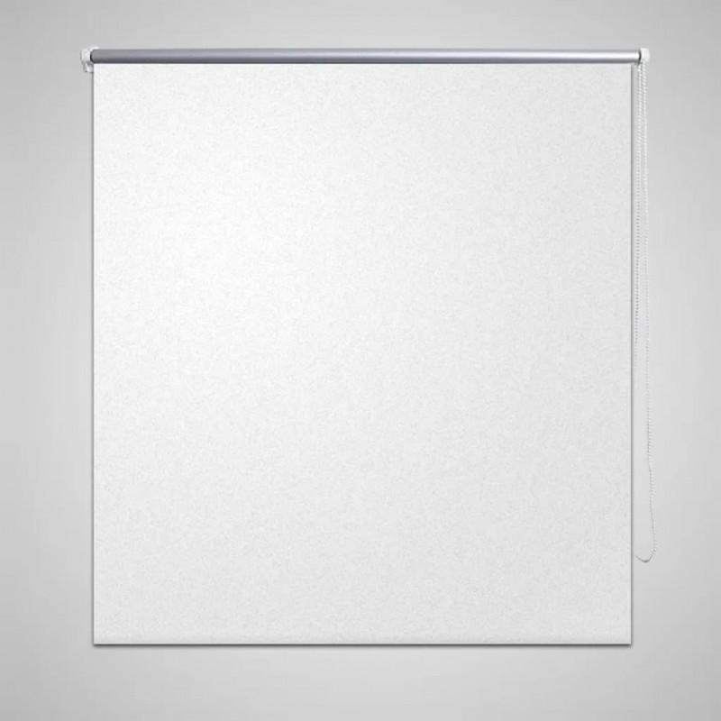 vidaXL Lámpara colgante araña de cristal elegante blanca