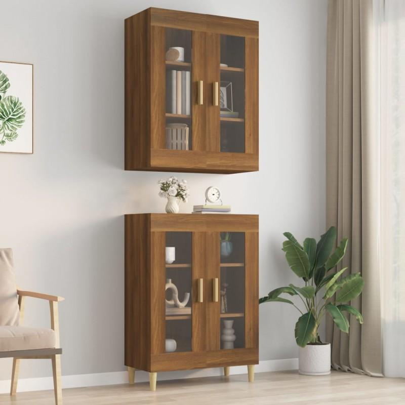 Tander Árbol de Navidad artificial con nieve PVC y PE verde 150 cm
