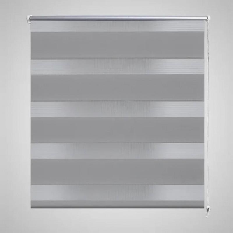 vidaXL Estante con 3 cestas tejidas de almacenamiento madera blanca