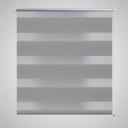 vidaXL Estante con 4 cestas tejidas de almacenamiento madera marrón