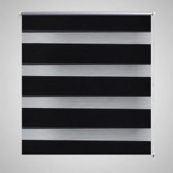 vidaXL Estante con 5 cestas tejidas de almacenamiento madera marrón