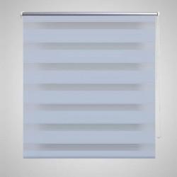 Banco baúl de madera blanca para zapatos