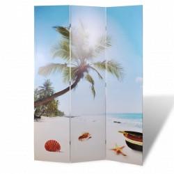 vidaXL Mesita auxiliar con 1 cajón y 1 puerta madera reciclada