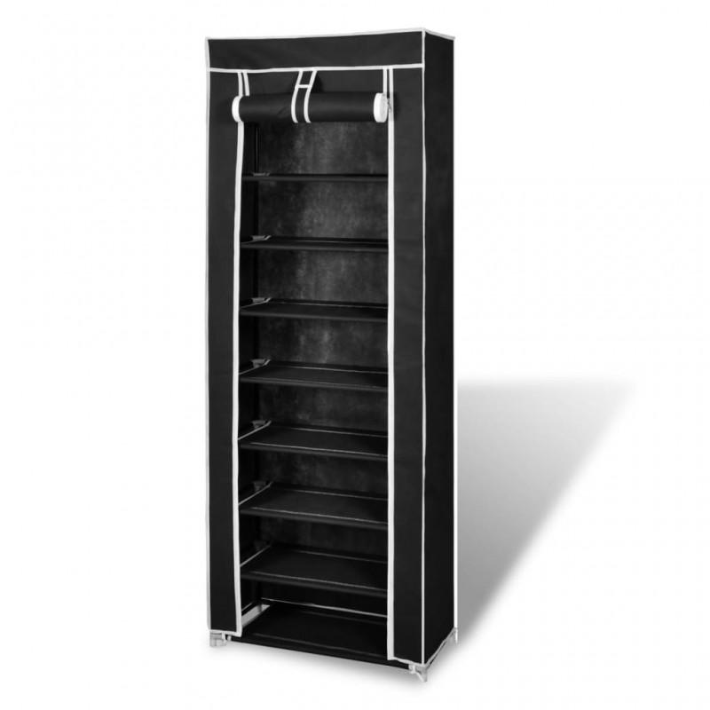 vidaXL Lámpara de techo con brazos de cristal hojas blanco morado E14