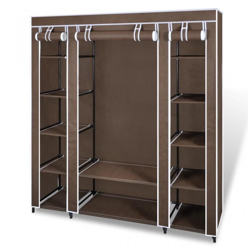 vidaXL Lámpara de techo de cristal y soporte curvado 3 bombillas E14