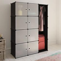 vidaXL Lámpara de techo con pantallas de cristal y soporte curvado