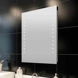 vidaXL Tocador con espejo 3 en 1 taburete y 2 cajones blanco
