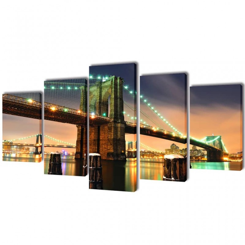 vidaXL Set de 3 mesitas apilables de madera maciza de mango