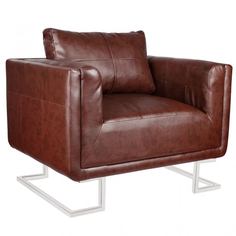 vidaXL Mesa de comedor y 4 sillas madera marrón