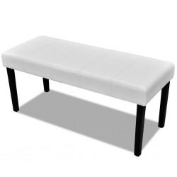 vidaXL Mueble para la TV de madera blanca