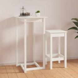 Tander Muebles de pared de TV 6 pzas aglomerado blanco y roble Sonoma