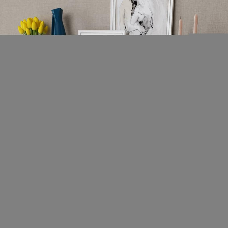 vidaXL Taburetes apilables 2 unidades de metal blanco