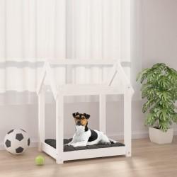 Tander Juego de mueble para TV de 4 piezas aglomerado blanco brillante