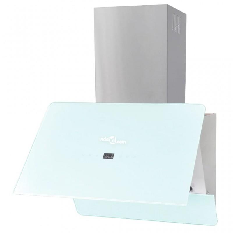 vidaXL Armario con un cajón y tres cestas madera blanca