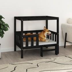 Tander Mueble TV patas madera maciza blanca roble sonoma 103,5x35x50cm