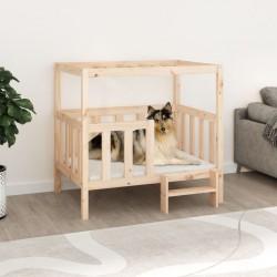 Tander Mesita de noche aglomerado gris hormigón 35x35x55 cm