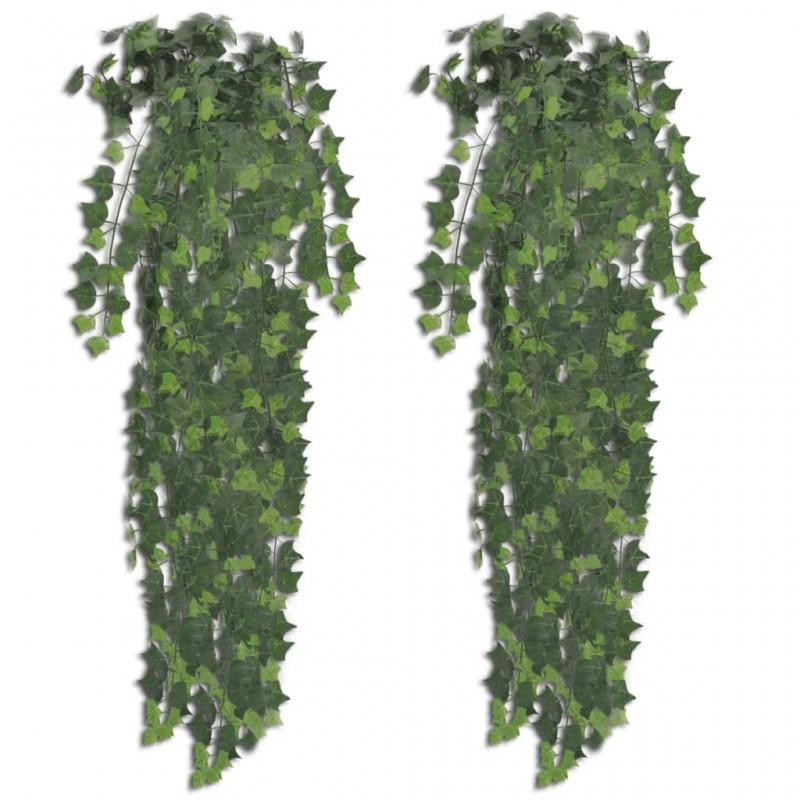 vidaXL Mesita de noche con 2 cajones de madera maciza sheesham
