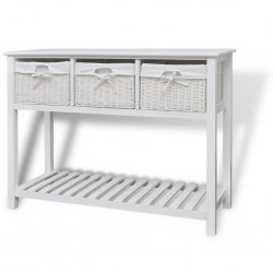 vidaXL Set de cofres de almacenamiento 2 unidades madera de mango rugosa