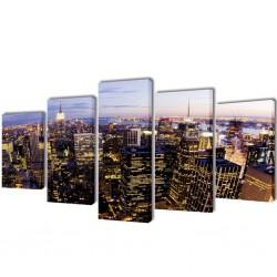 vidaXL Mueble para TV con cajones madera maciza roble 88x42x46 cm
