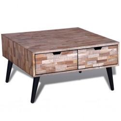 vidaXL Sofá modular de 3 plazas de cuero artificial negro