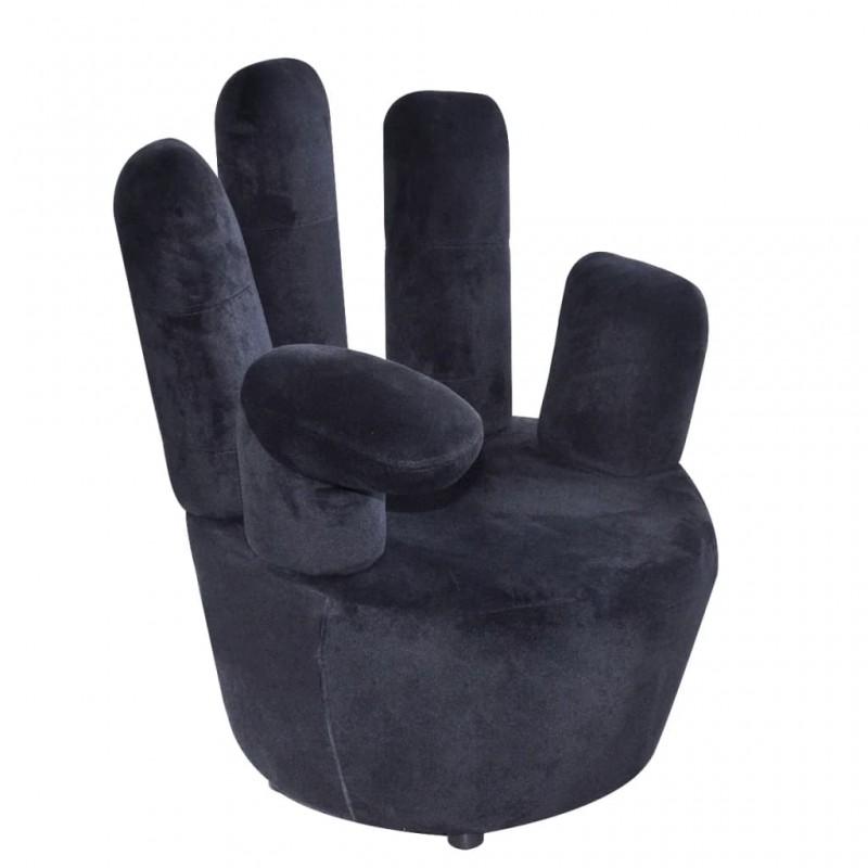 vidaXL Mesita de noche con 1 cajón gris y blanca