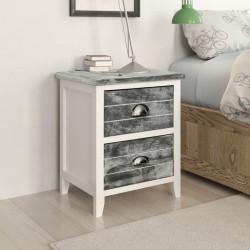 Alfombrilla de baño de bambú 60 x 90 cm marrón