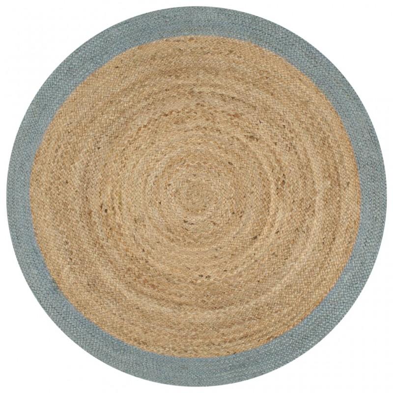 vidaXL Camisa de vestir de hombre talla S rayas blanca y azul