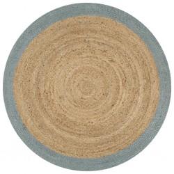 vidaXL Camisa de vestir de hombre talla M rayas blanca y azul