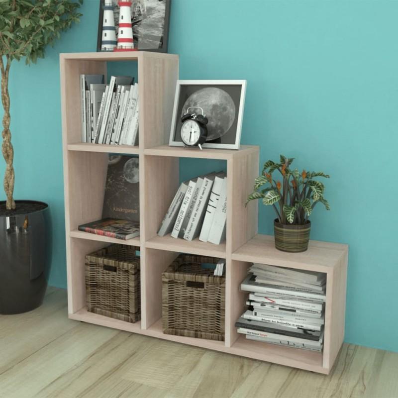 vidaXL Cama con cajones de cuero sintético blanco 140x200 cm