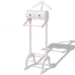 vidaXL Paragüero cuadrado soporte para bastones de acero negro 48,5 cm