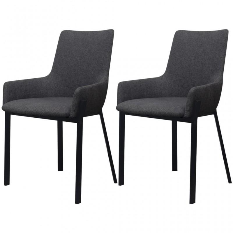 vidaXL Paragüero cuadrado soporte de bastones acero blanco 48,5 cm