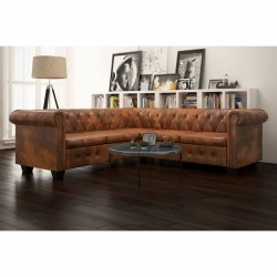Estantería de Bambú Cuadrada de 5 Niveles