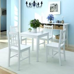 vidaXL Cesto de la ropa de bambú redondo color natural