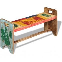 vidaXL Conjunto de comedor de cinco piezas negro