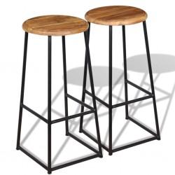 vidaXL Conjunto de comedor de siete piezas negro